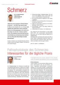 Arztpraxis Prof. Sprott, Zürich, Praxis für Rheuma & Schmerz, Pathophysiologie