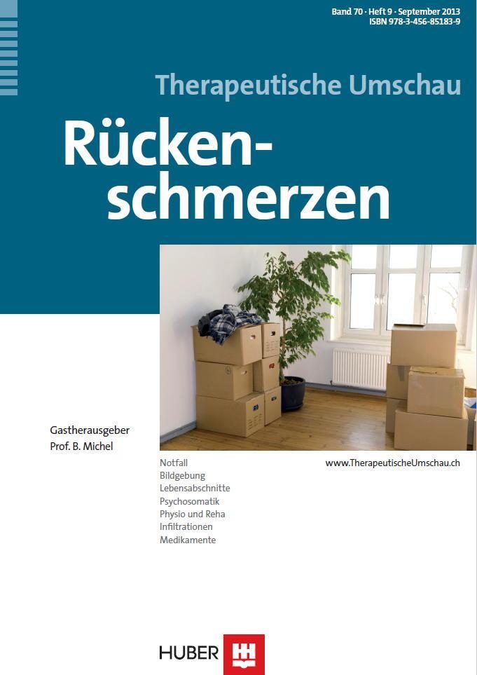 Arztpraxis Prof. Sprott, Zürich, Praxis für Rheuma & Schmerz, Rückenschmerzen