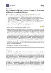 Arztpraxis Prof. Sprott, Zürich, Praxis für Rheuma & Schmerz, Schmerz bei Arthrose und Gene